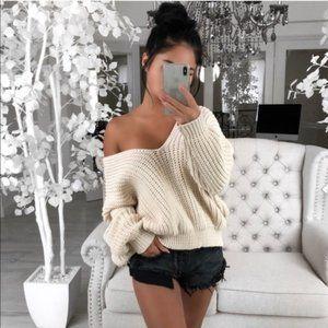 NEW Honey V neck Sweater